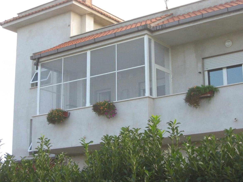 balcone in veranda