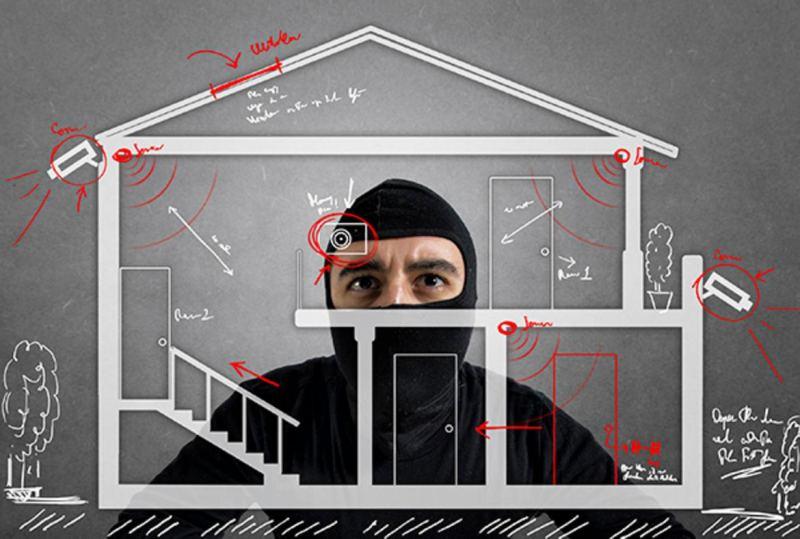 furti in casa attraverso i ponteggi
