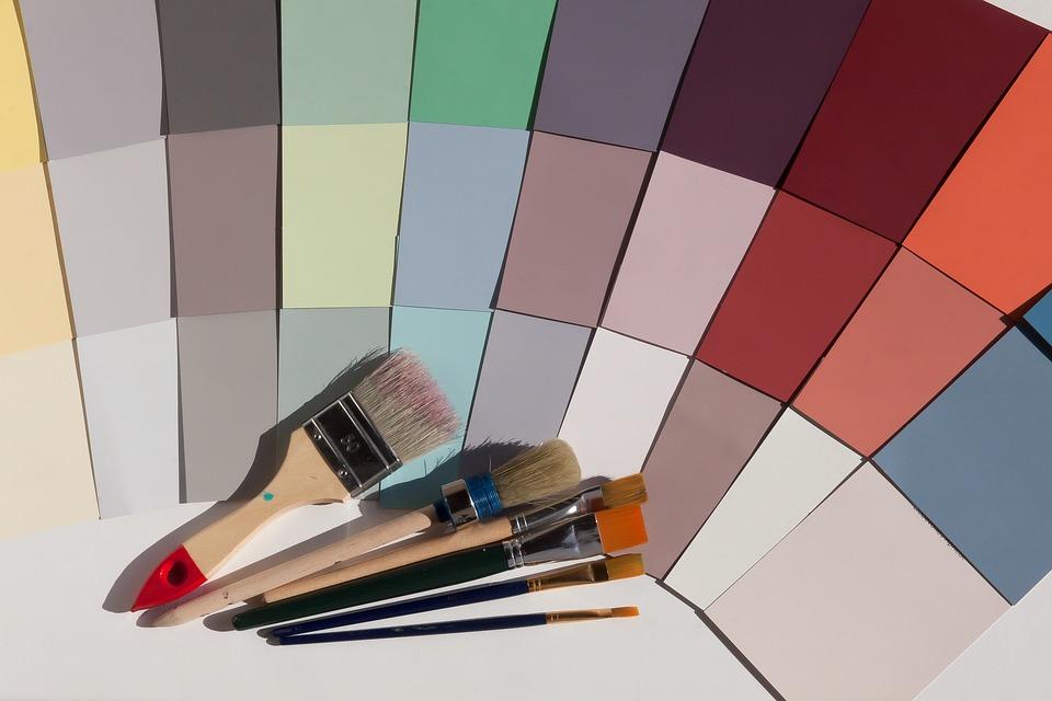 gestire colore parete