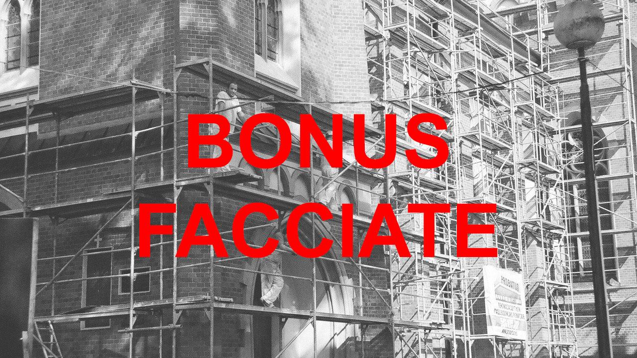 bonus facciata e ecobonus